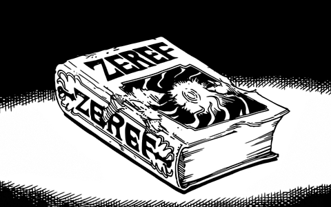 The Book of Zeref as depicted in the Manga