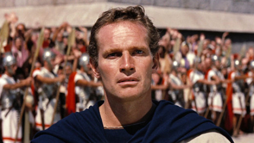 Charleton Heston in Ben Hur