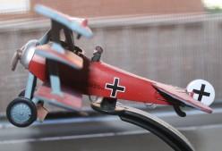 A model of a German World War One Fighter aircraft.
