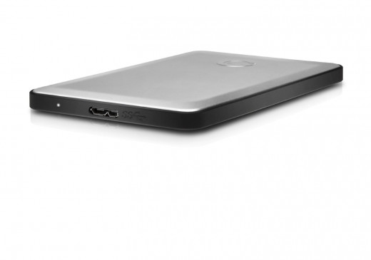 G-Technology G-DRIVE Slim USB 3.0 500GB Ultra-Slim Portable Hard Drive for MacBook Air