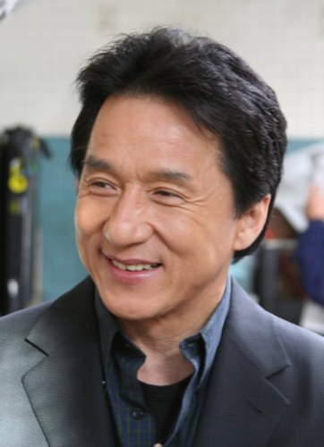 Jackie Chan is on her list for a future Movie. Yikes!