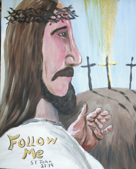 """Follow Me"", saith the Lord."