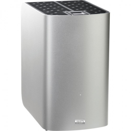 WD My Book Thunderbolt Duo 4TB External Dual Hard Drive Storage with RAID includes Thunderbolt cable