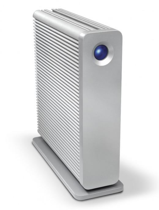 LaCie d2 Quadra v3 4TB External Hard Drive