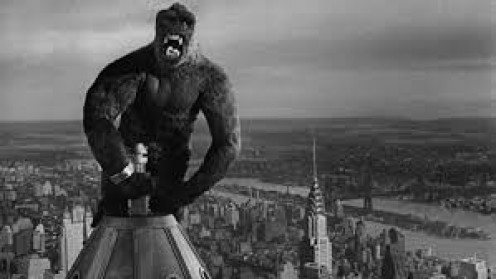King Kong was first released to critical acclaim in 1933. Kong has also been featured in a film fighting Godzilla.