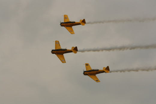 Canadian Harvard Aircraft Association Aerobatic Team
