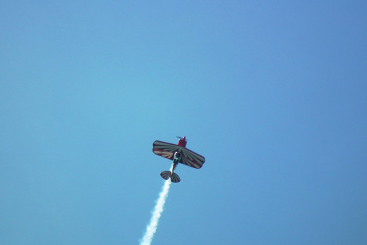 My aerobatic flight adventure in a Pitts Special