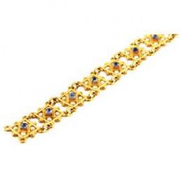 CASTELLANI Reversible Gold and Gemset Bracelet