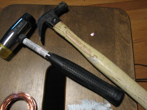 hammers with smaller heads