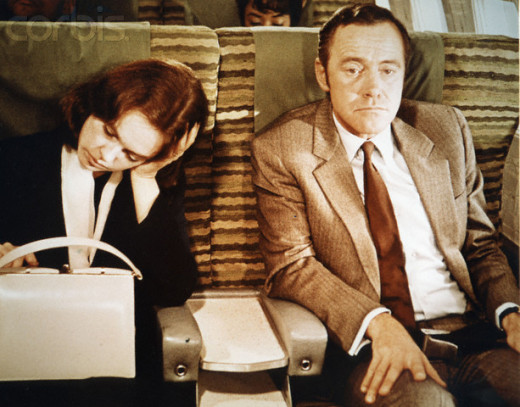"Sandy Dennis, left, as Gwen Kellerman and Jack Lemmon as George Kellerman in the 1970 movie, the ""Out-of-Towner's."""