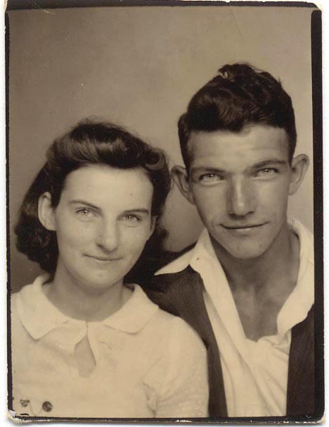 Helen and Kenneth Felumlee in early 1940's