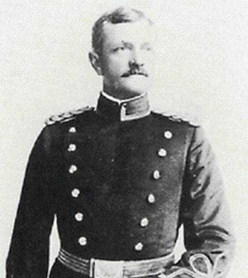 Captain John Pershing, age 41 (1901)