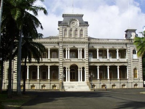 'Iolani Palace is the only royal palace in the United States.