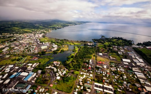 Aerial view of Hilo