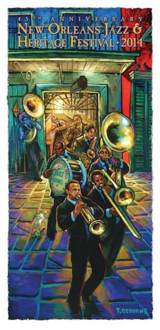 The good times are rolling on with the 34th Annual New Orleans Jazz Fest