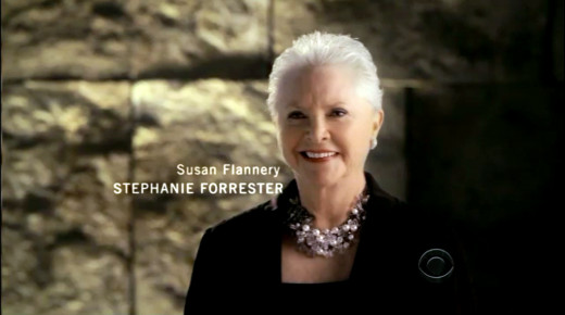 Susan Flannery as Stephanie Forrester - Opening  Credits 2012