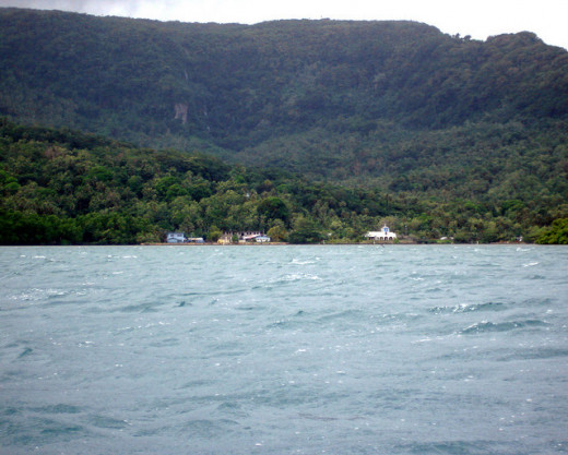 South Coast of Pohnpei