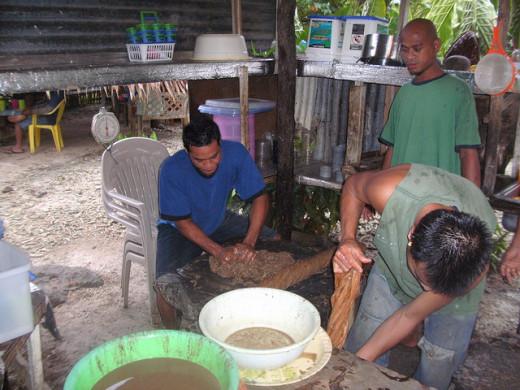 Making Sakau