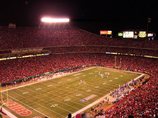 Chiefs fans still pack Arrowhead Stadium despite decades of disappointment.