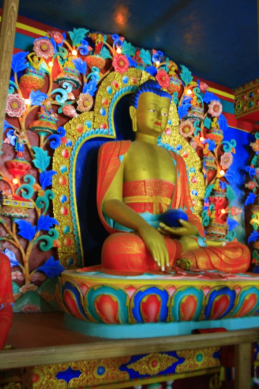 Meditating Buddhas