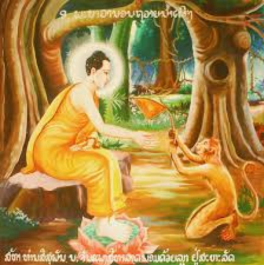 The Buddha urged us to treat animals as we treat ourselves