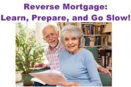 Learning about a reverse mortgage