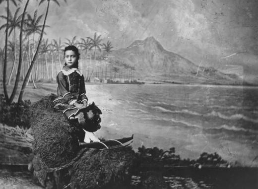 Young Ka'iulani