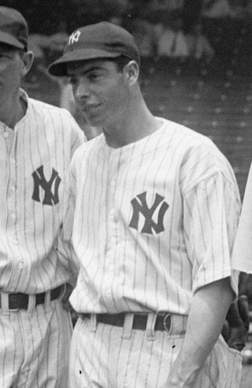 New York Yankee great Joe DiMaggio may have inspired more songs than any other Major League Baseball player.