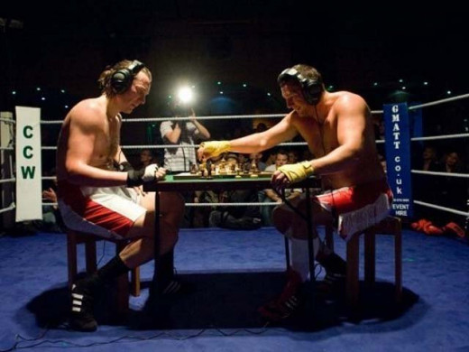 Chess Boxing Participants