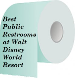 Best Bathrooms at Walt Disney World Resort