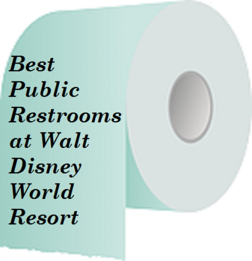 Where are the best restrooms with the shortest lines at Walt Disney World?