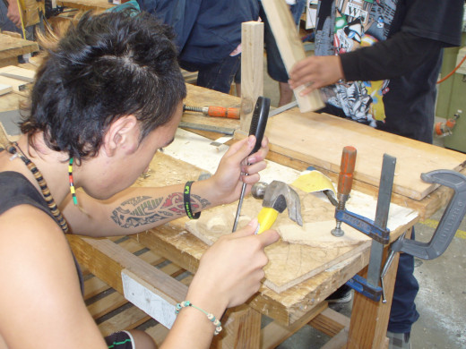 Learning Basic Carpentry Skills
