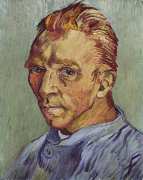 Self-portrait without beard by Vincent van Gogh