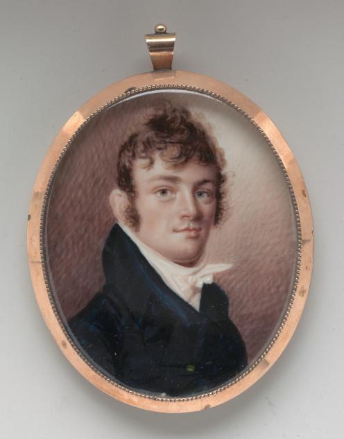 Portrait of a Gentleman by Joseph Wood