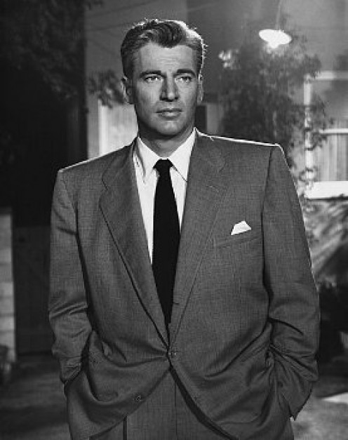 "William Hopper played ""Paul Drake,"" P.I., who worked for super-lawyer, ""Perry Mason."""