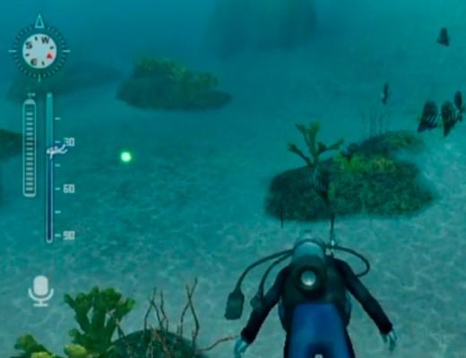 Diving off Gatama Atoll.