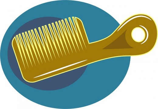 Wide tooth comb for Black, Afro-textured natural hair