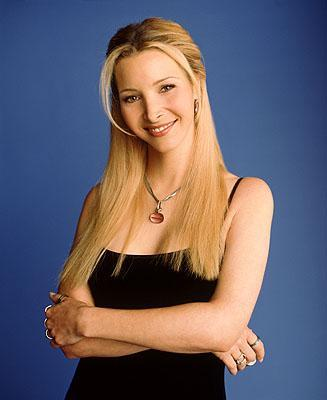 Promotional picture of Phoebe Buffay, a fictional character of Friends TV series (produced by Warner Bros.). Played by Lisa Kudrow.