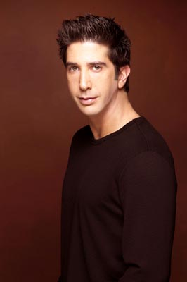 promotional photo of actor David Schwimmer, who starred as Ross Geller on the NBC sitcom Friends.