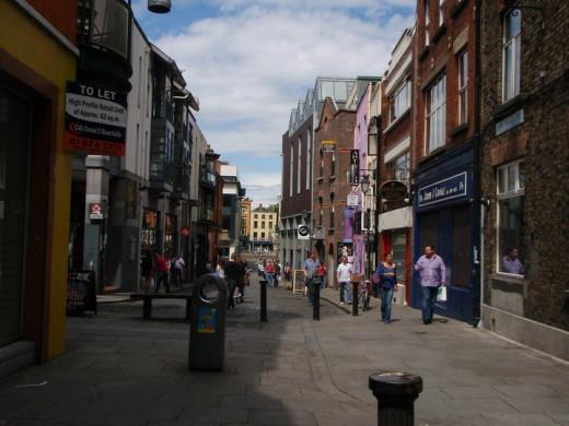 Fleet Street- Temple Bar Area