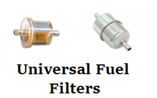 Universal In-Line Fuel Filter