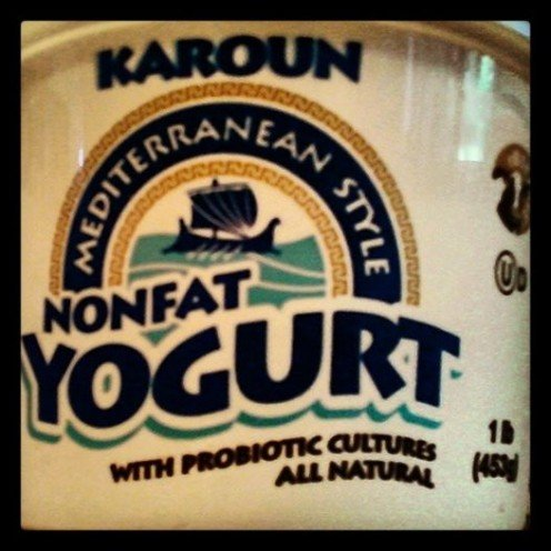 I use plain yogurt with live cultures.
