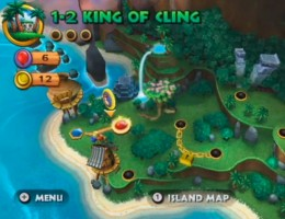 The level map.