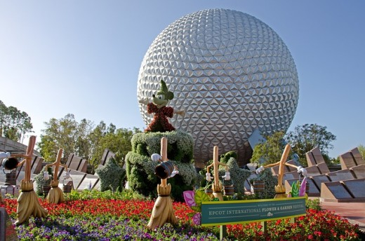 Just what is in that giant globe at EPCOT?