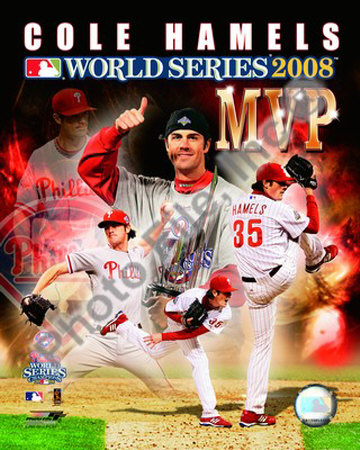 Cole Hamels, 2008 World Series MVP