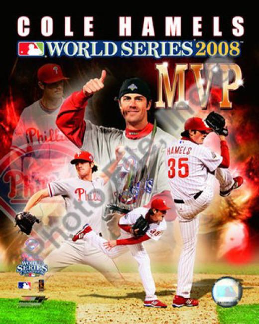 Cole Hamels, 2008 World Series MVP