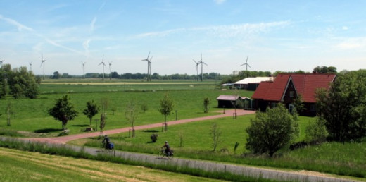Wind Farm Niedersachsen, Germany