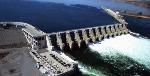 Wanapum Dam, Columbia River