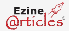 eZine Articles seems dated with its text only format