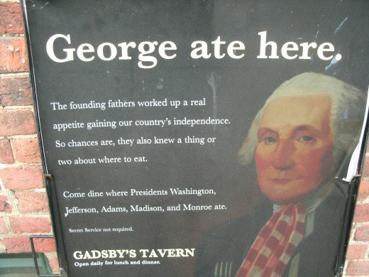 Historic Gadsby Tavern in Alexandria, Virginia